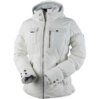White Obermeyer Leighton Jacket Womens