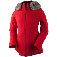 Crimson Obermeyer Siren Jacket w/Faux Fur Womens