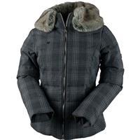 Plaid Heather Obermeyer Bombshell Jacket Spec Ed Womens