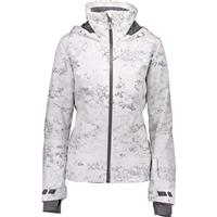 Obermeyer Snowdiac Shell Jacket - Women's - Frosted Fossils (19103)