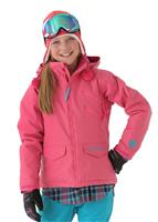 Burton Venture Jacket - Girl's - Hot Streak