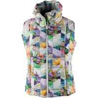 Chevron Floral Obermeyer Dawn Insulator Vest Womens