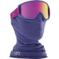 Purple Frame with Pink Amber Lens Anon Relapse Jr MFI Goggle