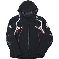Black / Cirrus / Volcano Spyder Pinnacle Jacket Mens