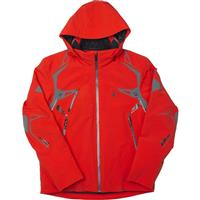 Volcano / Polar / Black Spyder Pinnacle Jacket Mens