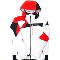 White / Volcano / Black Spyder Titan Jacket Mens