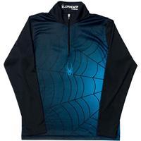 Black / Electric Blue Spyder Bugcentric Dry WEB T Neck Boys