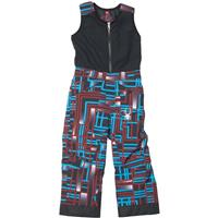 Volcano Routed Print Spyder Mini Expedition Pant Boys