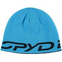 Black / Electric Blue Spyder Reversible Innsbruck Hat Mens