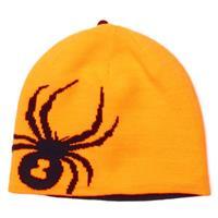Bright Orange / Black Spyder Reversible Bug Hat Boys