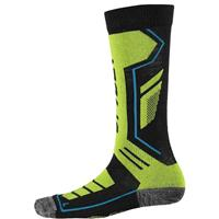 Black / Theory Green / Electric Blue Spyder Sport Merino Sock Boys