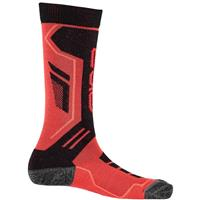 Volcano / Black / Bryte Orange Spyder Sport Merino Sock Boys