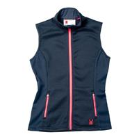 Depth / Bryte Pink Spyder Melody Full Zip Core Sweater Vest Womens