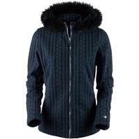 Storm Cloud Obermeyer Sadie Cable Knit Jacket Womens