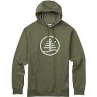 Olive Branch Heather Burton Woodblock Family Tree Recycled Pullover Mens