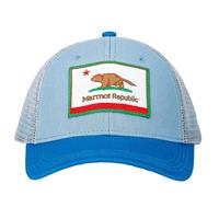 Blue Cloud Marmot Youth Marmot Republic Trucker Hat