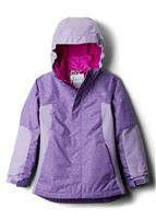 Columbia Whirlibird II 3-in-1 Jacket - Girl's - Grape Gum Sparklers