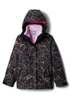 Columbia Bugaboo II 3-in-1 Jacket - Girl's - Black Floral