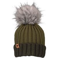Military Time (19089) Obermeyer Denver Faux Fur Pom Hat Womens
