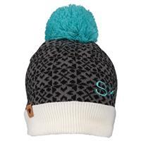 White (16010) Obermeyer Wichita Knit Pom Hat Womens