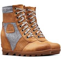 Camel Brown Sorel Lexie Wedge Boot Womens