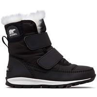 Sorel Whitney Strap Boot - Toddler - Black / Sea Salt