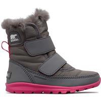 Sorel Whitney Strap Boot - Toddler - Quarry / Ultra Pink
