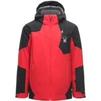 Red / Black / Red Spyder Chambers Jacket Boys
