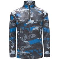 Spyder Limitless Camo Zip T-Neck - Boy's
