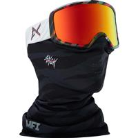 MFI Disco Tiger Frame w/ Red Solex D17Lens (185451 972) Anon Deringer Goggle Womens