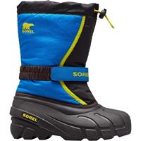Sorel Flurry Boot - Youth - Black / Super Blue