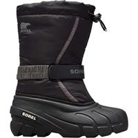 Sorel Flurry Boot - Youth - Black / City Grey