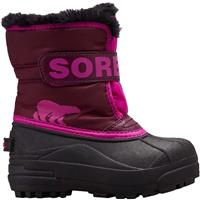 Sorel Snow Commander Boot - Youth - Purple Dahlia / Groovy Pink