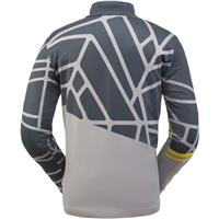 Spyder Vital Zip T Neck - Men's - Alloy