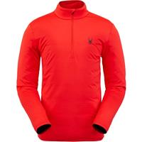 Spyder Prospect Zip T Neck - Men's - Volcano