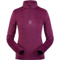 Spyder Shimmer Bug Zip T Neck Womens