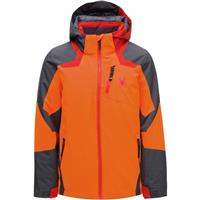 Spyder Leader Jacket - Boy's - Bryte Orange