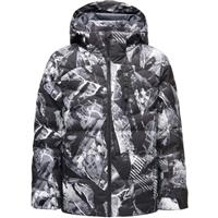 Spyder Impulse Synthetic Down Jacket - Boy's - Frozen In Time Print