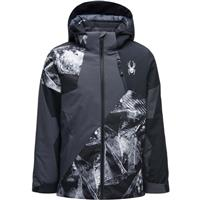 Spyder Ambush Jacket - Boy's - Frozen In Time Print