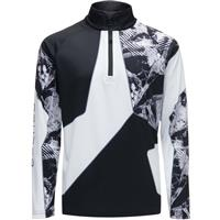 Spyder Divide Zip T Neck Boys