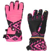 Spyder Synthesis Ski Glove - Girl's - Sweater Weather Print