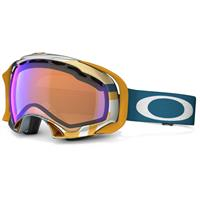 1975 Blue Orange Frame / Blue Iridium Lens (59 610) Oakley Splice Goggle