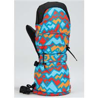 Gordini Toddler Baby Baby Baby Print Mitt - Youth - Geo Peaks Blue / Orange