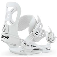 Union Cadet XS Snowboard Bindings - Youth - White
