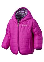 Columbia Infant Double Trouble Jacket - Youth - Bright Plum Stripe