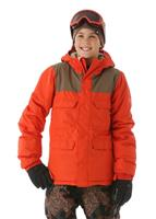 686 Approach Insulated Jacket - Boy's - Burnt Orange