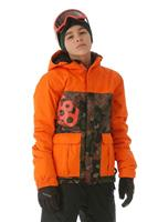 686 Elevate Insulated Jacket  - Boy's - Army Cubist Camo Colorblock
