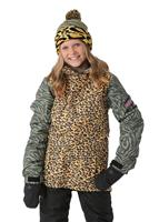 Leopard 686 Flora Insulated Jacket Girls