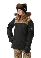 686 Harlow Insulated Jacket - Girl's - Black Colorblock