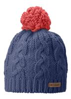 Columbia In-Bounds Beanie - Youth - Bluebell / Hot Coral